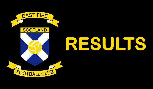 EAST FIFE FC RESULTS: 2007/08