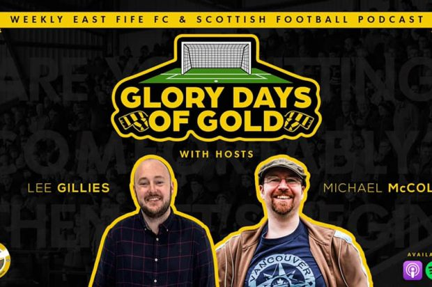 Episode 44 – Glory Days of Gold (Another Fine Mess – East Fife's Clyde Covid controversy, David Cox and abuse in football, Club 42 v pyramid battle)